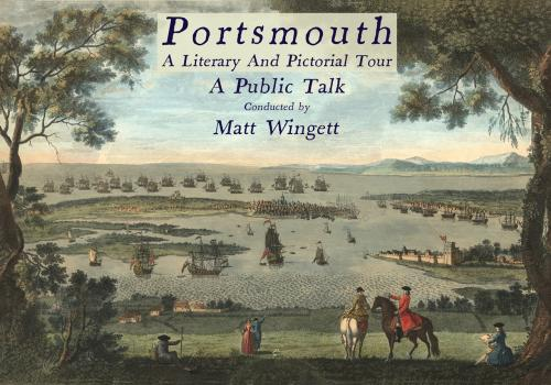 Portsmouth A Literary and Pictorial Tour, Public Talk