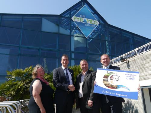 Business talk news portsmouth news and information portsmouth for Pyramid swimming pool portsmouth
