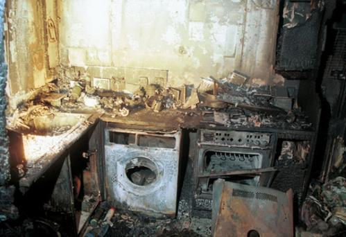 Firefighters are backing a national safety campaign which aims to encourage people to take extra care in the kitchen.