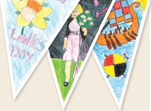 Neston Ladies Club Day Heritage Project - new bunting
