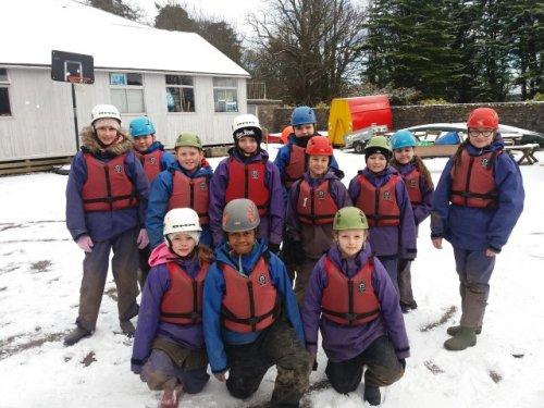 Snow, Mud, Rain, Sun and Achievements for Neston Primary Pupils