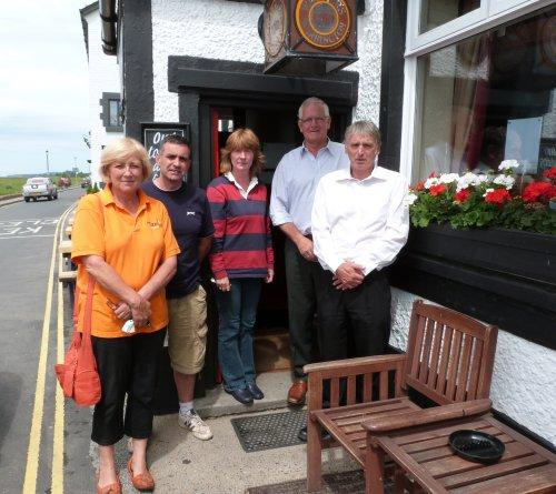 Parkgate Traders protested over the closure of Boathouse Lane