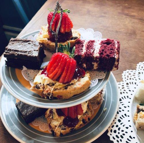 Valentines Tea for 2 at Bluebell