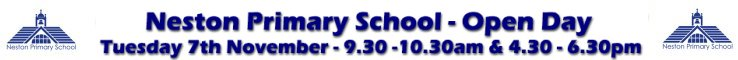Neston Primary School Open Day
