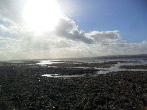 High Tide at Parkgate - February 2014