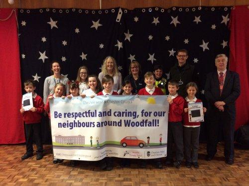 Parents Sign Up to Park Safely at Woodfall School in Neston