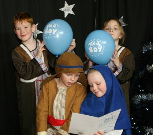 Traditional Christmas celebrations at Neston Primary School
