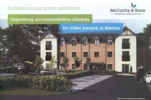 McCarthy & Stone brochure recently delivered to residents in the area