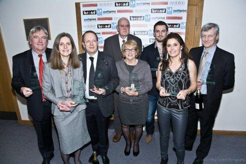 Winners at the inaugural Neston Business Awards