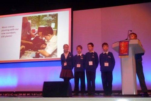 Neston Primary Rotakids at Regional Conference