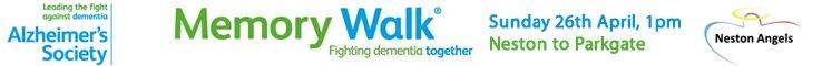 Memory Walk from Neston to Parkgate 2015