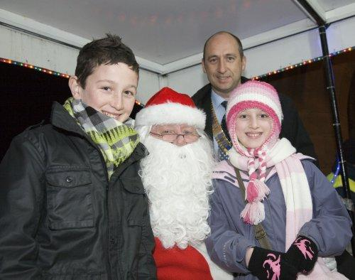 Santa at Neston Parish Church 018
