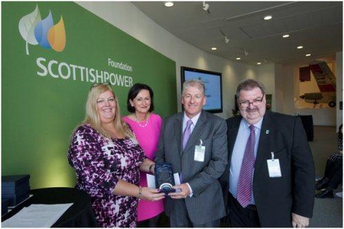 Northern Lights Children's Charity picked up an award