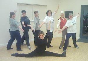 Adult dance classes at NCYC
