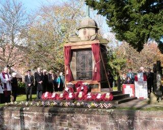 Remembrance Day in Willaston 2012