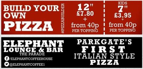 Pizza nights at Elephant in Parkgate