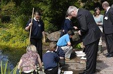 Ness Gardens - Visit by the Duke of Gloucester