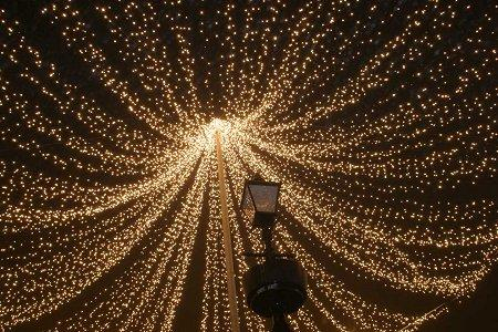 ... News Reviews u0026 Features The website for Neston News Features Neston s canopy of lights ... & Canopy Christmas Lights ? The Imagine Christmas Decorations