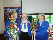 Neston Ladies Club Day Heritage Project flower stave workshop