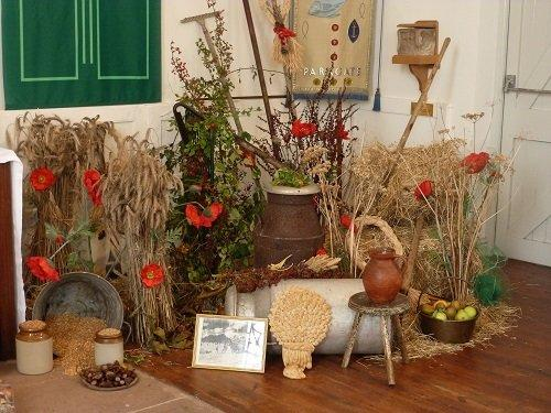 Harvest at St Thomas' Church in Parkgate