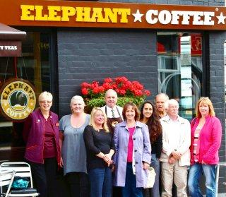 Elephant Coffee sponsors the CH64 Events Group