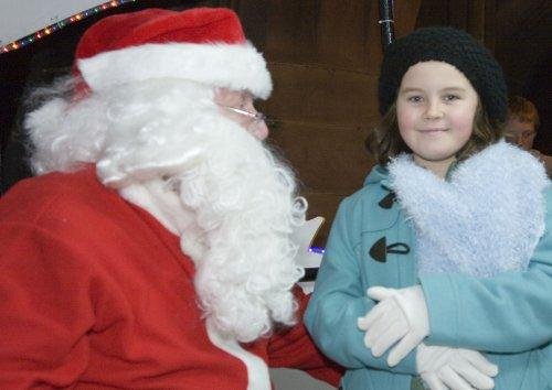 Santa at Neston Parish Church 020
