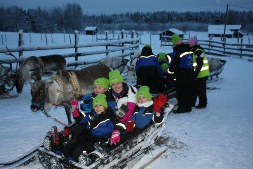 Northern Lights Children's Charity Lapland Trip 2014