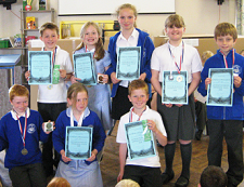 Parkgate Primary - swimming team