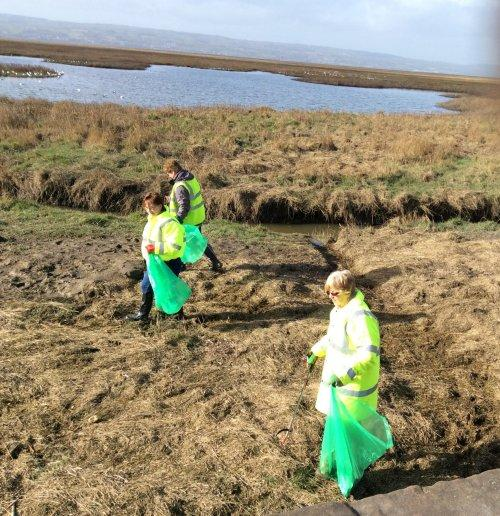 35 bags of rubbish were collected at the Parkgate litter pick