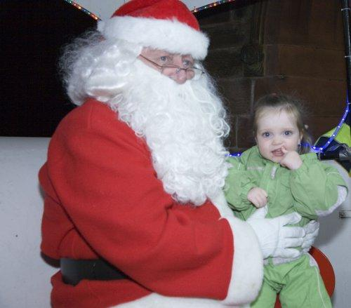 Santa at Neston Parish Church 013