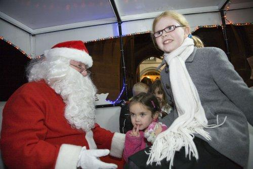Santa at Neston Parish Church 006