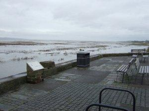 High Tide at Parkgate by Chris Smith