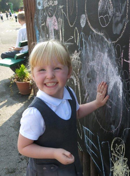 First half term of the new school year at Neston Primary