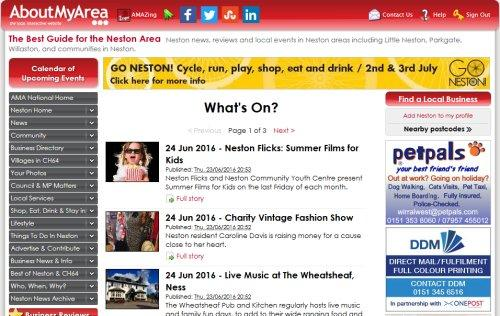 What's On guide for Neston