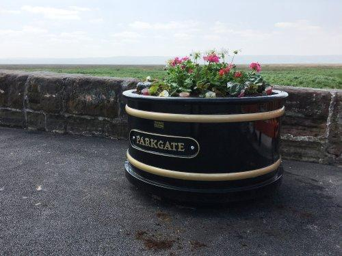 Parkgate planters have pride of place