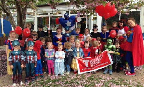 Superheroes Day at Little Gems Pre-School