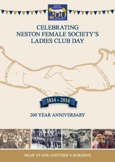 Neston Ladies Club Day Heritage Project Brochure