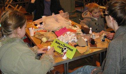 Christmas Crafts at the Parish Church