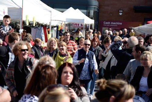 Hip & Harmony Easter Market Flash Mob