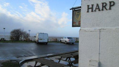 High Tide at The Harp