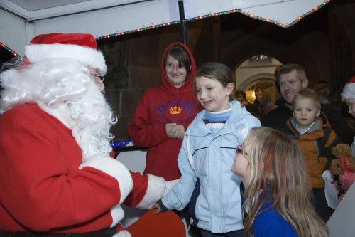 Santa at Neston Parish Church 009