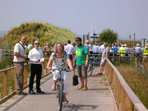 Burton Greenway officially opened