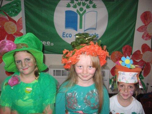 Green Day at Woodfall Primary School