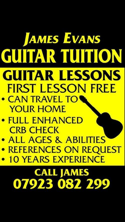 James Evans Guitar Lessons