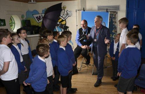 Neston Pupils Snap Up Tips From Local Photographer