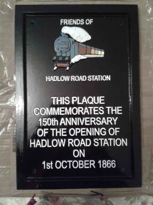 Hadlow Road Station 150th anniversary