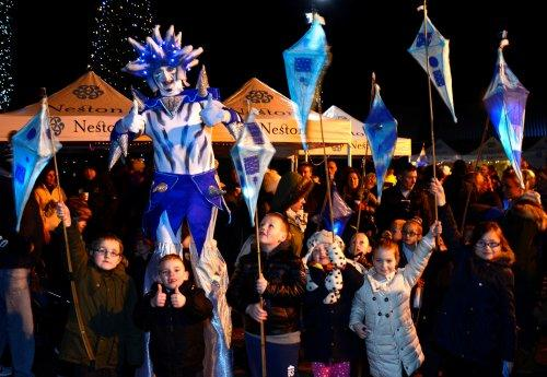 Neston Christmas Lights 'n' Lanterns 2014