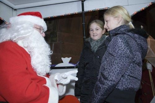 Santa at Neston Parish Church 003