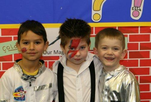 Famous Britons Day at Neston Primary School