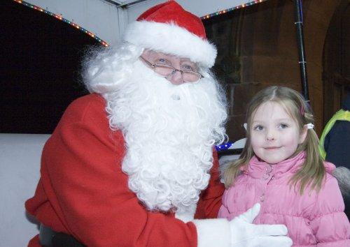 Santa at Neston Parish Church 011